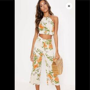 Two piece Floral Printed Set